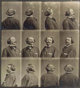 Nadar - Revolving - selfportrait ca. 1865
